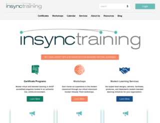 us.insynctraining.com screenshot