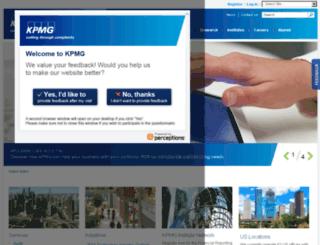 us.kpmg.com screenshot