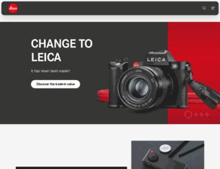 us.leica-camera.com screenshot