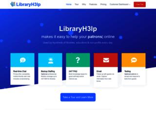 us.libraryh3lp.com screenshot