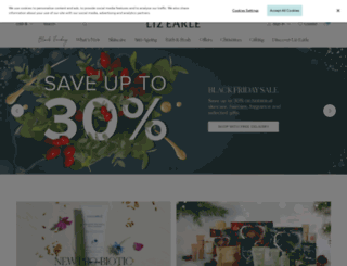 us.lizearle.com screenshot