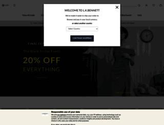 us.lkbennett.com screenshot
