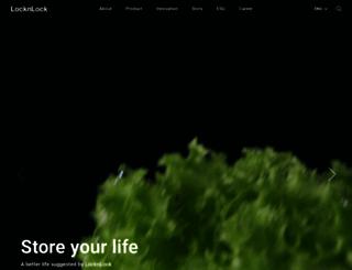 us.locknlock.com screenshot