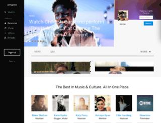 us.myspace.com screenshot