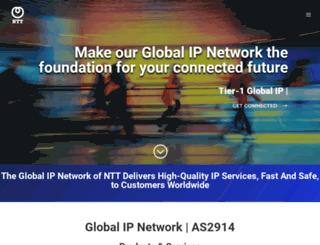 us.ntt.net screenshot