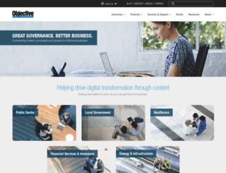 us.objective.com screenshot