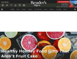us.readersdigest.com screenshot