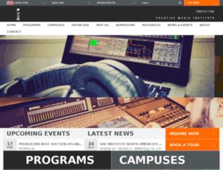 us.sae.edu screenshot