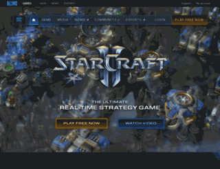 us.starcraft2.com screenshot