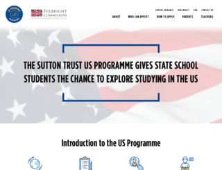 us.suttontrust.com screenshot