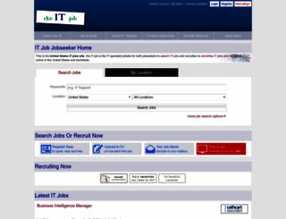 us.theitjob.com screenshot