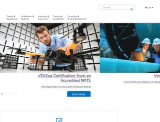 us.tuv.com screenshot