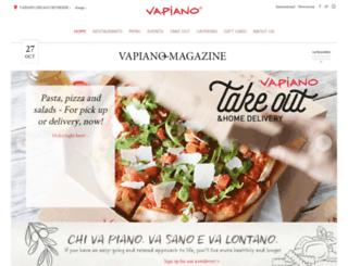 us.vapiano.com screenshot