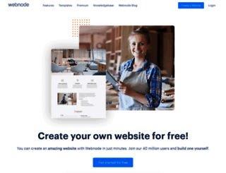 us.webnode.com screenshot