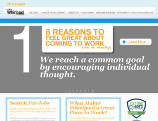 us.whirlpoolcareers.com screenshot