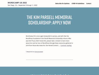 us.wordcamp.org screenshot
