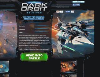 us1.darkorbit.com screenshot