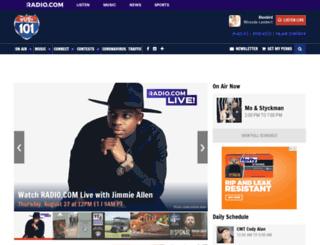 us101country.com screenshot