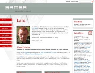 us6.samba.org screenshot