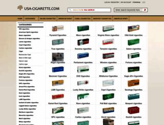 usa-cigarettes.com screenshot
