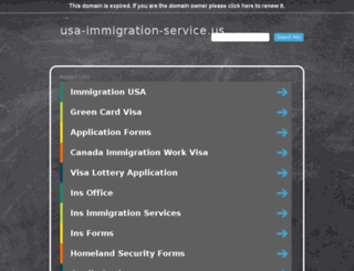 usa-immigration-service.us screenshot