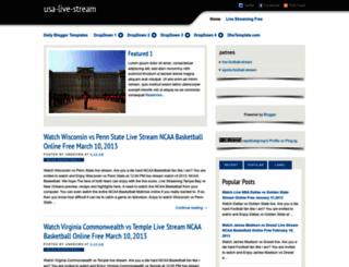 usa-live-stream38.blogspot.com screenshot