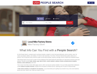 usa-people-search.com screenshot