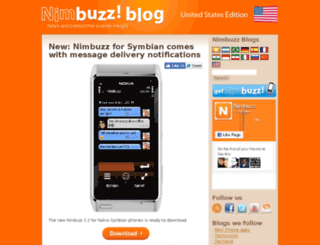 usa.blog.nimbuzz.com screenshot