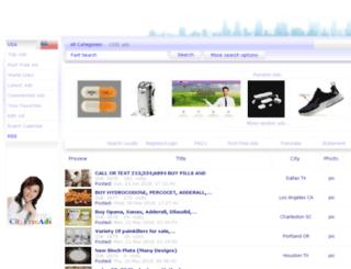 usa.cityfreeads.com screenshot