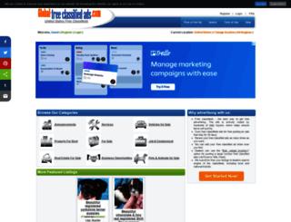 usa.global-free-classified-ads.com screenshot