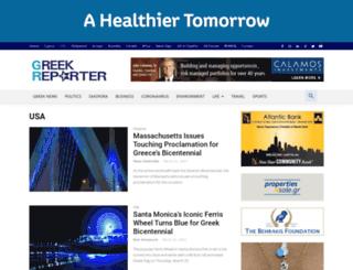 usa.greekreporter.com screenshot