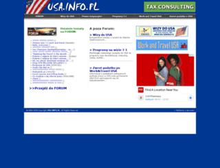 usa.info.pl screenshot