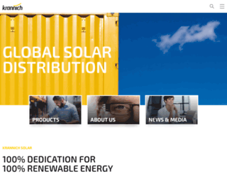 usa.krannich-solar.com screenshot