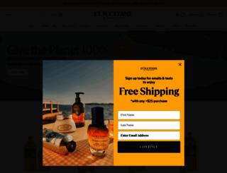 usa.loccitane.com screenshot