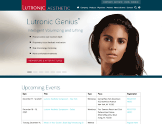 usa.lutronic.com screenshot