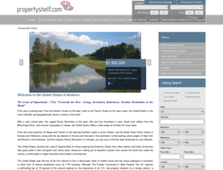 usa.propertyshelf.com screenshot