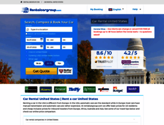 usa.rentalcargroup.com screenshot