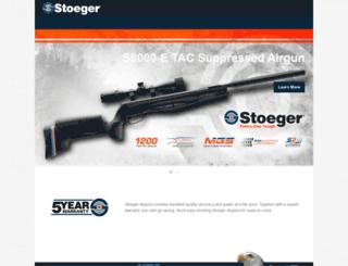 usa.stoegerairguns.com screenshot