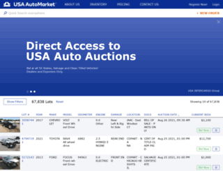 usaautomarket.com screenshot