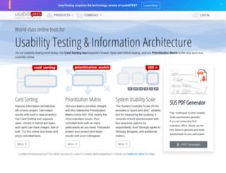 usabilitest.com screenshot