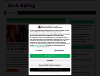 usabilityblog.de screenshot