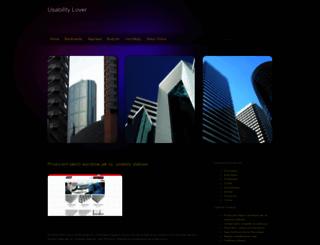 usabilitylover.pl screenshot
