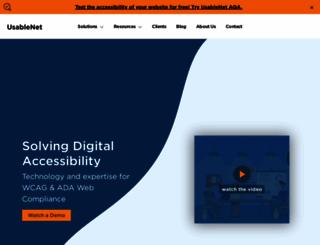 usablenet.com screenshot