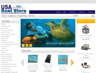 usaboatstore.com screenshot