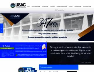 usac.edu.gt screenshot