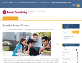 usadissertationwriters.com screenshot