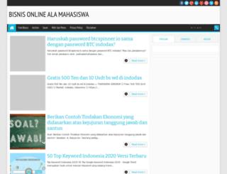 usahaalamahasiswa.blogspot.com screenshot