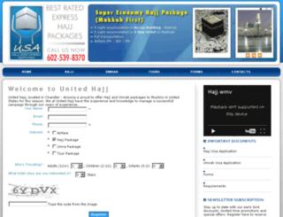 usahajj.com screenshot