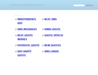 usaindependencedaywishesquotes.com screenshot