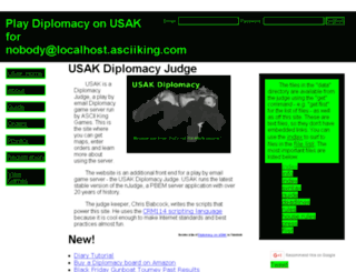 usak.asciiking.com screenshot